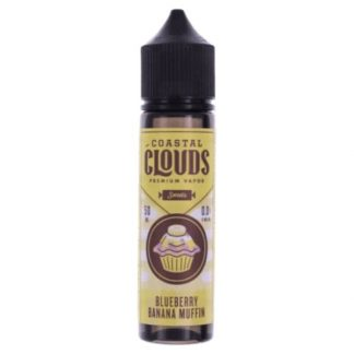 Blueberry Banana Muffin by Coastal Clouds E Liquid Sweets 50ml Short Fill 600x