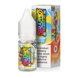 super rainbow candy on ice nicotine salt eliquid bottle with box by strapped salt nic 300x300 1