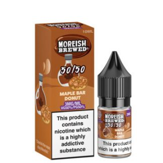 maple bar donut 10ml 50 50 eliquid bottle with box by moreish brewed 5050 360x360 1