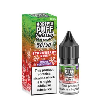 strawberry kiwi 10ml 50 50 eliquid bottle with box by moreish puff chilled 5050 360x360 1