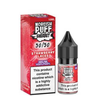 strawberry laces 5050 10ml 50 50 eliquid bottle with box by moreish puff sherbet 360x360 1
